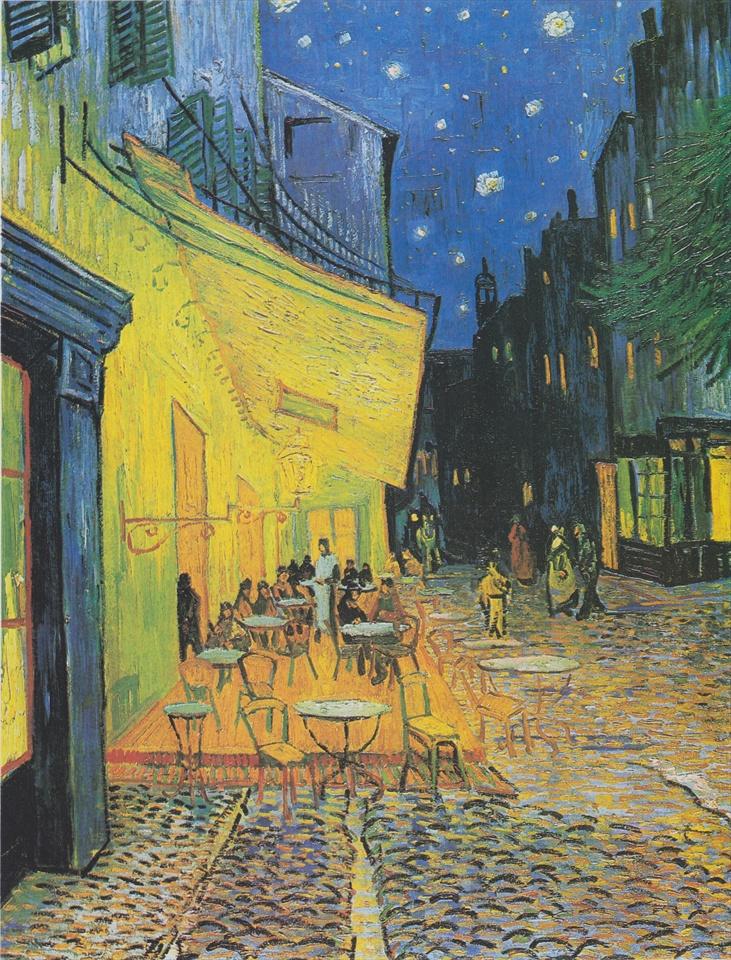 フィンセント・ファン・ゴッホ『夜のカフェテラス』 1888年