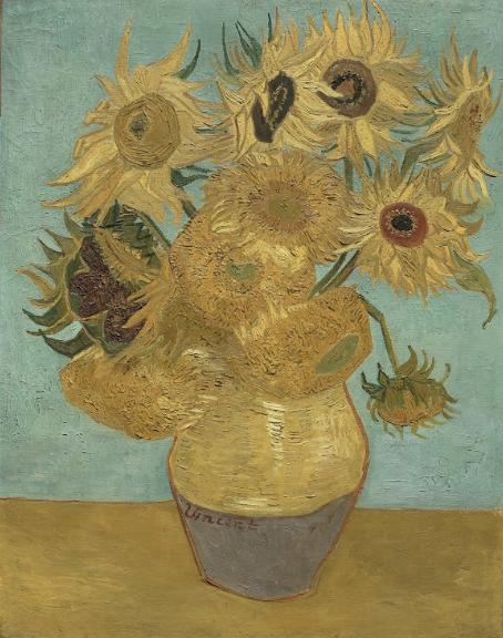 フィンセント・ファン・ゴッホ『ひまわり』 1888 - 89年